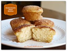 Snickerdoodle Donut Muffins - Simple to make, so good.
