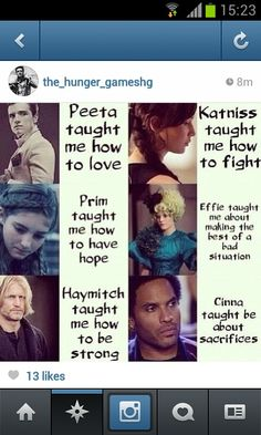 It is true but there's even more hunger games made me know lots more but these are the ones that stand out