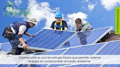¿Y tu sabes que es un panel solar? #Thermohomes