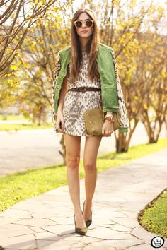 FashionCoolture - 06/23/2015 look du jour Moikana Animal print look of the day (1)