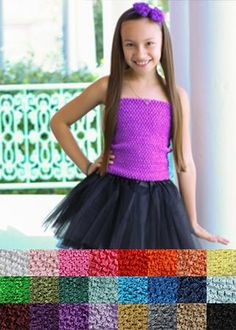 These are our biggest and softest tutu tops, perfect for crafting. Our 10