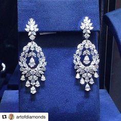 #arzano #rare masterpieces @artofdiamonds #diamondearrings #luxury