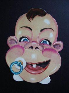 caricatura neonato