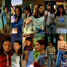 Joey Potter Every Outfit From Season 1 Joey Dawson's Creek, Dawson Creek, Fashion Tv, Grunge Fashion, Joey Potter, Trendy Halloween, Friend Outfits, Katie Holmes, Festival Outfits