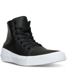 CONVERSE Converse Men s Chuck Taylor All Star Quantum Leather High Top  Casual Sneakers from Finish Line eb66bc8f6