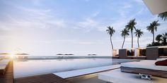 Muse Sunny Isles - Swimming Pool Deck #miami #miamibeach #sunnyisles