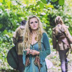 Vikings Helga played by Maude Hirst Season 4 Vikings