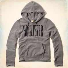 e68d6df58c Hollister Mens Redondo Hoodie Pullover Gray – FashionFest Hollister Mens