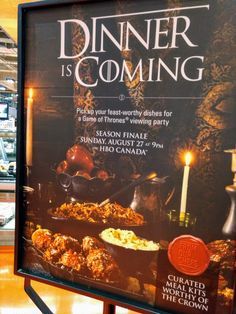 Loblaws Dinner is Coming Game of Thrones viewing party and feast worthy curated meals to eat in your own castle or keep! Just in time for the finale. More details on availability in the post