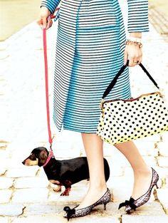 Fashion Editorial | A Girl's Best Friend - DustJacket Attic