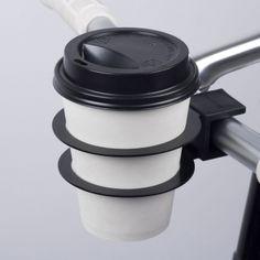 Bookman bike coffee Cup Holder black big cup