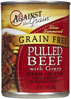 Against the Grain Hand-Pulled Beef - 12x13oz *** You can get more details by clicking on the image. (This is an affiliate link and I receive a commission for the sales) #Dogs
