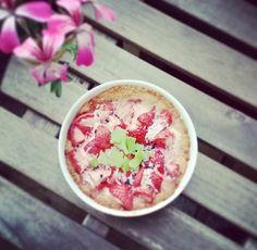 Leckerer Erdbeerkuchen (natürlich zucker- und glutenfrei) von unserer Teilnehmerin Antje.  Mehr Foodpics von unseren Kundinnen auch auf Instagram unter @mybodyartist