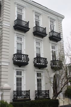 elegant black and white house exterior
