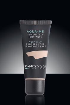 Aqua-me -Uma emulsão de luz para efectuar uma segunda pele. Contém Aquaxyl TM, princípio ativo que faz com que esta fórmula fresca como água. Apropriado para todos os tipos de pele.