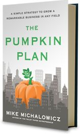 The Pumpkin Plan follows Dr. Steven Coveys illustration of law of the harvest focusing on the biggest baddest produce possible!  Loved it!  Listened on Audible twice!