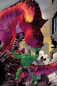 Moon Girl And Devil DInosaur #4 Featuring the Totally Awesome Hulk