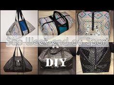 Coudre un Sac Week-end ou Sport - Tuto Couture DIY Facile - YouTube