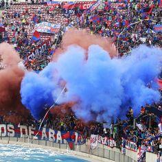Hinchas de Universidad de Chile vivieron su banderazo FOTOS - Terra Chile