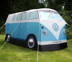 CALIFORNIA DREAMING   VW Camper Van tent