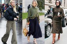 Image of 除了粉色以外的春季好選擇,時尚達人為你示範軍綠色穿搭!