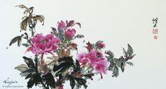 Flowers and Birds - Virginia Lloyd-Davies - Joyful Brush®