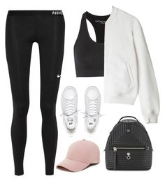 """""""#159"""" by emmm1994 ❤ liked on Polyvore featuring Lucas Hugh, Fendi, NIKE, T By Alexander Wang and Sole Society"""