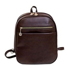 Women Backpack Womail Girl School Student Leather Daypack Rucksack Bag Brown Coffee *** Read more  at the image link.