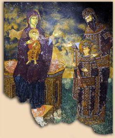 Manastir Sopoćani / The monastery of Sopocani Location: Novi Pazar, Serbia Christian World, Christian Art, Religious Icons, Religious Art, Fresco, Images Of Christ, Saints, Church Architecture, Travel And Tourism