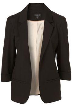 Perfect black blazer.