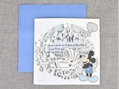 Invitatii botez Colectia Disney - Invitatie botez eleganta Mickey cod 15710 for only ! Cod, Mickey Mouse, Disney, Frame, Cape Cod, Michey Mouse, Frames, Cod Fish, Disney Art