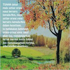 Mazmur 145 : 18-19  #BerjalanBersamaYesus #yesuskristus #tuhan #tuhanyesus #renungan #alkitab #quote #quotes #qotd #quoteoftheday #doa #berdoa #allah #terang #terangdunia #love #bibleverses #bibleverse #ayatalkitab #kristen #christian by @berjalanbersamayesus via http://ift.tt/1RAKbXL