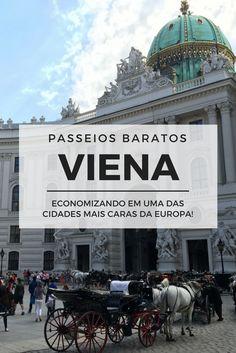 Liderando o ranking mundial de qualidade de vida, Viena também é um dos lugares mais caros da Europa! Descubra como economizar na cidade com passeios baratos ou até graça nesse post: http://www.viagememdetalhes.com.br/programas-baratos-e-de-graca-em-viena/