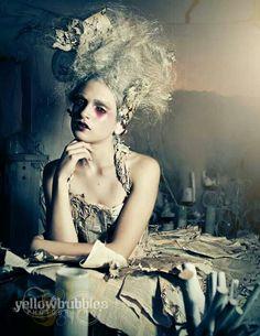 Avante garde Fun Hairstyles Creativity at its best Amazing