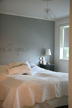 Letras de alambre para decorar la pared del Cabecero : x4duros.com