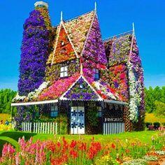 Dubai Miracle Garden, the largest natural flower garden in the world, opened in the middle of the desert - Be A Gardening Star Dream Garden, Garden Art, Garden Design, Home And Garden, Garden Cottage, Garden Ideas, Path Design, Garden Paths, Backyard Ideas