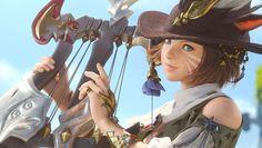 Miqo'te Bard from Final Fantasy XIV: A Realm Reborn