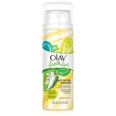 Looking to reduce the look of pores? Try Olay Fresh Effects Out Of This Swirled Deep Pore Clean Plus Exfoliating Scrub that will purify and clean your skin