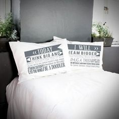 Poetic Pillowcases - Pretty Printed Pillow Perfection