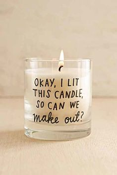 ADAMJK X UO Make Out Candle- White One