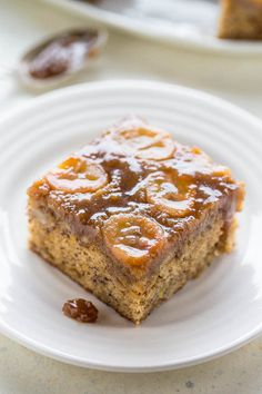 Upside-Down Banana Bread Cake - Don't settle for making another loaf of plain…