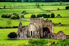 Ruins, St. Patricks, Ireland  photo via kristie
