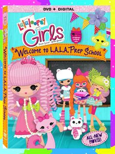 My girls go nuts for fun with the Lalaloopsy Girls. They both started new schools this year and this movie really helped to remind them that growing up and doing new things, isn't always bad.