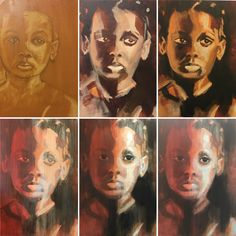 Portraits, Painting, Art, Art Background, Painting Art, Kunst, Paintings, Performing Arts, Painted Canvas