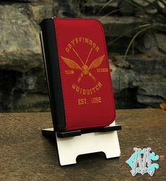 FREE SHIPPING Harry Potter Gryffindor Quidditch by CustomizeMeAz