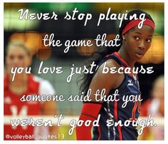 <3  #volleyball #sportquotes #volleyballquotes