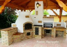 """Discover even more relevant information on """"outdoor kitchen designs layout patio"""". Look at our internet site. Basic Kitchen, New Kitchen, Kitchen Island, Kitchen Grill, Outdoor Kitchen Countertops, Concrete Countertops, Parrilla Exterior, Outdoor Gas Fireplace, Diy Grill"""