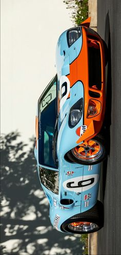 °) 1969 Superformance MkI in Gulf Livery, image enhanced by Keely VonMonski V8 Supercars, Funny Pictures For Kids, Ford Gt40, Car Ford, Motor Sport, Mustangs, Car Stuff, Le Mans, Luxury Cars