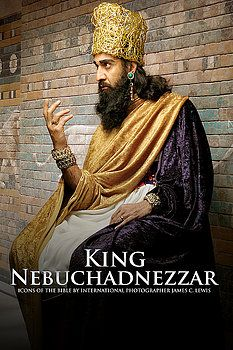 King Nebuchadnezzar by Icons Of The Bible