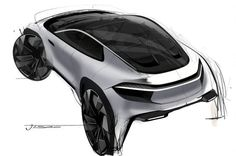 With this project, I'd like to propose My personal vision for future automotive world. Auto Design, Automotive Design, Car Design Sketch, Car Sketch, Industrial Design Sketch, Alfa Romeo Cars, Ford Gt, Car Drawings, Cool Sketches